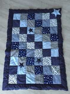Patchwork Decke für Jungs in der Größe von 100x135cm                                                                                                                                                                                 Mehr