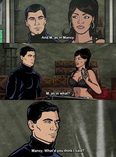 Archer - M as in Mancy