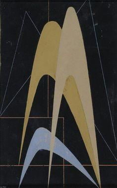 Composizione 1948 - 19,8x12,4