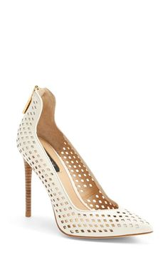Rachel Zoe 'Callie' Leather Pump (Women) available at #Nordstrom