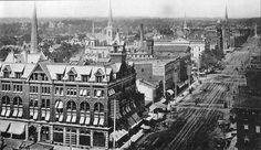 Downtown Dayton, Ohio in the Local History, Us History, History Pics, Ashtabula County, Heartland Of America, The Buckeye State, Dayton Ohio, Cleveland, My Kind Of Town