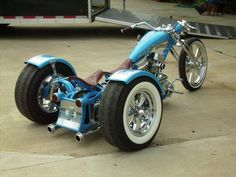 Free Motorcycle Videos, Pics, and Media from Choppertown Bobber Motorcycle, Moto Bike, Cool Motorcycles, Custom Trikes, Custom Choppers, Custom Harleys, Harley Davidson Trike, Drift Trike, Bobber Chopper