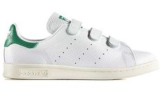 adidas Originals STAN SMITH CF [Running White / Green / Cream White] (B24535)