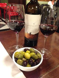 Priorat and olives in Barcelona
