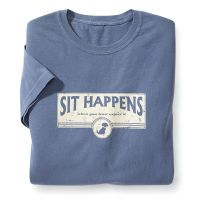 """Sit Happens"" Tee"