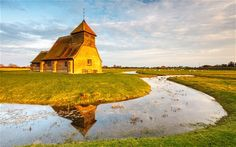 Sorry, Rosie Huntington-Whiteley, your home county is undeniably glorious - but there's a better one Oh The Places You'll Go, Places To Travel, Places To Visit, The Beautiful Country, Beautiful Places, Romney Marsh, Old Churches, Local Attractions, England And Scotland