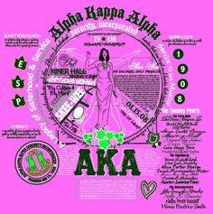 "AKA ""Blueprint Series"" t-shirt design Aka Sorority, Alpha Kappa Alpha Sorority, Sorority Life, Pretty In Pink, Pretty Girls, Pink Apple, Alpha Female, Everything Pink, Cata"