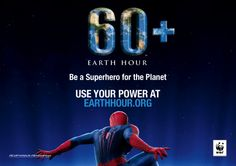 Spider-Man 2 And World Wildlife Fund Join Forces To Save The Planet With Earth Hour Campaign Alter Ego, Wwf Earth Hour, Tom And Jerry Show, Marvel Comics, First Superhero, Its Time To Stop, Love The Earth, Save The Planet, Mother Earth