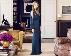 aerin lauder's home Love when dark rooms open up to wide white spaces - great color scheme here