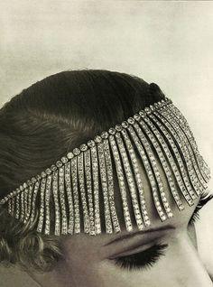 Collier Franges, collection Bijoux de Diamants créés par Gabrielle Chanel en 1932 © Robert Bresson