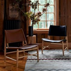 Leather Sling Chair | west elm