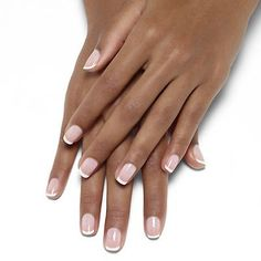 mademoiselle french manicure by essie - this classic, grown-up pink french manicure is sheer perfection.