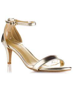 ROF #Women's Faux #Leather #D'Orsay Ankle Strap Kitten Heel Sandals Pumps.    #theladybuff #amazon.com