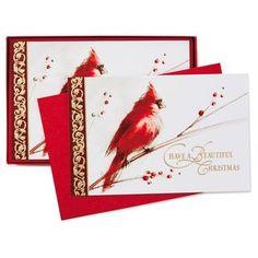 Season of Beauty Christmas Cards, Box of 40,
