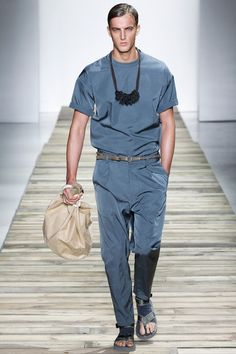 Robert Geller Spring 2016 Menswear Fashion Show Fashion Show Review