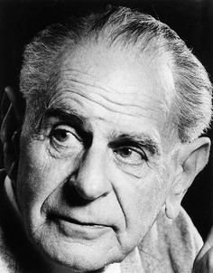Sir Karl Raimund Popper (Vienna, 28 luglio 1902 – Londra, 17 settembre 1994) è stato un filosofo e epistemologo austriaco naturalizzato britannico.Popper è anche considerato un filosofo politico di statura considerevole, difensore della democrazia e del liberalismo e avversario di ogni forma di totalitarismo.