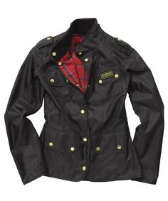 Womens Barbour Vintage International.
