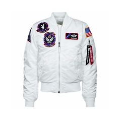 個性的Alpha プレイボーイ VANDY MA-1 FLIGHT JACKET