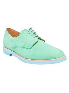 T & F Slack Shoemakers London Colored Oxford Shoe