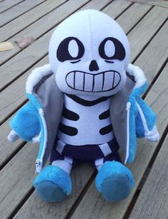 :Undertale Sans plush:  I WANT IT ERMAGERD I WANT A LITTLE SANS PLUSH!!!!!!!