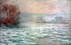 Débâcle, la Seine près Bennecourt (C Monet - W 1339) | par photopoésie,1893.