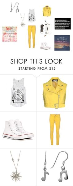 """Apollo Cabin Outfit"" by devils-daughter159 on Polyvore featuring Jeremy Scott, Converse, M Missoni, Bow & Arrow and Roberto Cavalli"