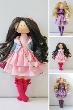 Bambole Soft doll Puppen Handmade doll by AnnKirillartPlace