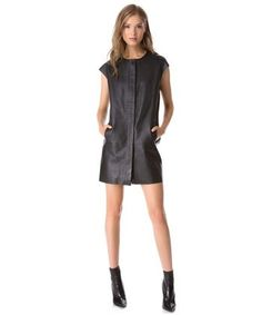 Slideshow: Lucky's 10 Best: Black Leather Dresses