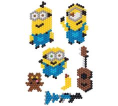 Buy Aquabeads Minions Playset at Argos. Minions, Arts And Crafts Kits, Craft Kits, Minion Characters, Art For Kids, Crafts For Kids, Water Beads, Fuse Beads, Toy Craft