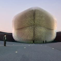 Thomas Heatherwick's Seed Cathedral. Oh how I wish I could have seen this.