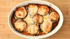 Lighter Eggplant Parmesan, Recipe from Everyday Food, December 2008