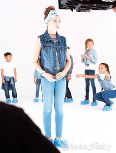 Added by #hahah0ll13 Dance Moms Maddie Ziegler and Asia Monet Ray for Target's back to school ads