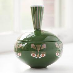 Green Cat Jar