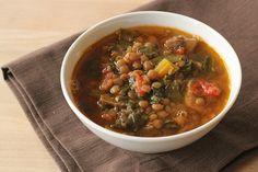 Vegetarian Lentil Soup With Greens