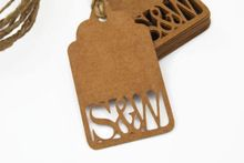 Personalized Wedding Favour Tags Gift tags wishing tree Vintage Rustic baby shower Birthday favor Blank Cards Scrapbook(China (Mainland))