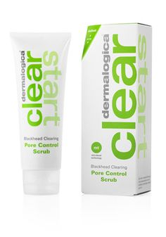Clear Start Clearing Pore Control Scrub purifies, renews and refreshes your skin for a smooth, brighter skin tone. Avoid future blemishes from developing.