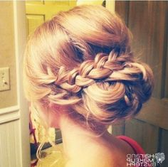 bridesmaid hair styles up - Google Search