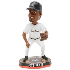 Miami Marlins Jose Reyes Baseball Base Bobblehead - MLB.com Shop