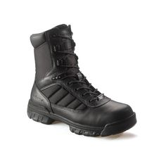 Bates Enforcer Men's 8-in. Boots, Size: medium (12), Black