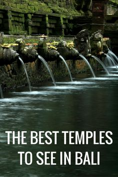 The Best Ancient Temples to See in Bali, Indonesia!