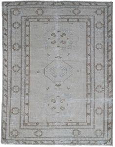 "#17238 Origin:Afghanistan Design:Geometric Size:5' 1"" x 6' 3"" Sqft:31.77′ Color:Soft"