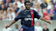 "Augustine ""Jay-Jay"" Okocha (Paris Saint-Germain FC, 1998–2002, 84 apps, 14 goals)"