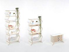 Stockwerk foldable bookshelf