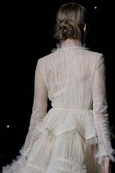 Romantic  Valentino Spring Summer Couture 2013 #Fashion
