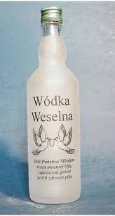 More Polish Wedding Vodka