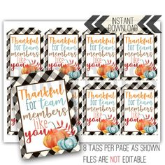 Staff Appreciation Gifts, Staff Gifts, Team Gifts, Thanksgiving Teacher Gifts, Thanksgiving Ideas, Fall Teacher Gifts, Teacher Treats, Holiday Ideas, Fall Gifts