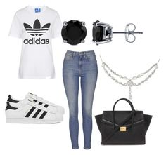 """Adidas"" by keke554 on Polyvore featuring beauty, Topshop, adidas, BERRICLE and Forever 21"