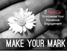 My FIRST Blog Post on @jeffbullas' Blog!!  *  11 Power Tips To Increase Your #Facebook Engagement! #socialmediatips #facebooktips