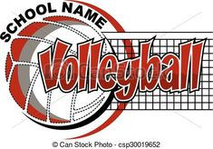 Vector - volleyball design - stock illustration royalty free illustrations stock clip art icon stock clipart icons logo line art EPS picture pictures graphic graphics drawing drawings vector image artwork EPS vector art Volleyball Clipart, Volleyball Team Shirts, Volleyball Shirt Designs, Volleyball Posters, Volleyball Quotes, Volleyball Pictures, School Shirt Designs, Logo Line, Eps Vector
