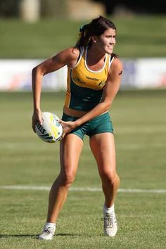 Charlotte Caslick Australian Touch and Rugby 7s Player